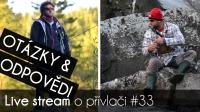 VIDEO: Přívlač Live #33 - Otázky & Odpovědi