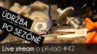 VIDEO: Přívlač Live #42 - Posezónní údržba vybavení