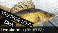 VIDEO: Přívlač Live #37 - Zimní strategie lovu!
