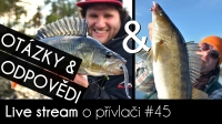 VIDEO: Přívlač Live #45 - Otázky & Odpovědi