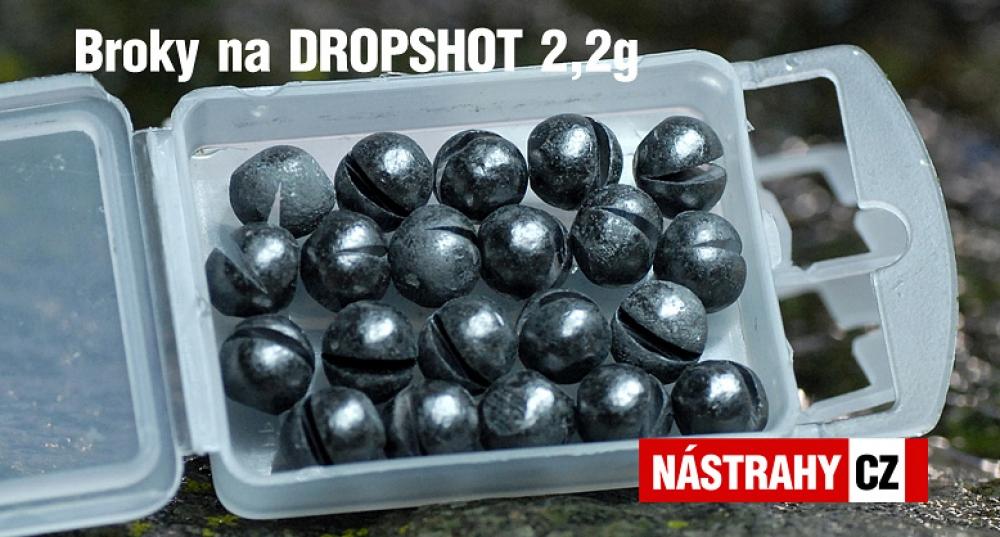 Broky na DROPSHOT - 20 ks 2,2 g