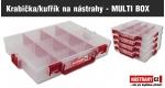 ZDARMA 1 x krabička/kufřík na nástrahy - MULTI BOX (199,-) - obj. nad 2000,- Kč