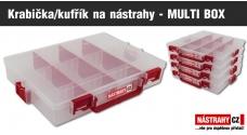 Krabička/kufřík na nástrahy - MULTI BOX