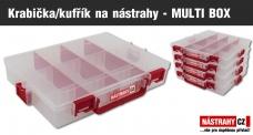 ZDARMA krabička/kufřík na nástrahy - MULTI BOX (199,-) - obj. nad 2000,- Kč