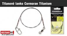Titanové lanko Cormoran Titanium - 2 ks