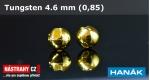 Wolframová hlavička 4,6 - gold - 5 ks