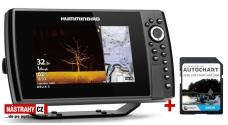 Humminbird HELIX 8x CHIRP MSI+ GPS G3N + karta AUTOCHART ZDARMA