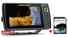 Humminbird HELIX 9x CHIRP MSI+ GPS G3N + karta AUTOCHART ZDARMA