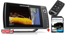 Humminbird HELIX 10x CHIRP MSI+ GPS G3N +karta AUTOCHART ZDARMA + DÁREK