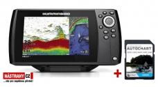 Hummimbird HELIX 7 CHIRP SI GPS G2 + karta AUTOCHART ZDARMA