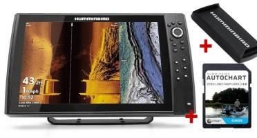 Humminbird HELIX 15x CHIRP MSI+ GPS G4N + karta AUTOCHART A KRYT ZDARMA