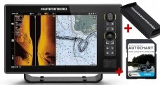 Humminbird SOLIX 10 CHIRP MSI+ GPS G3 + karta AUTOCHART ZDARMA
