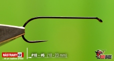 BL háček RedBass Competition