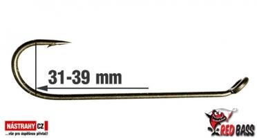 Háček streamer RedBASS Long