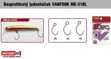 Bezprotihrotý jednoháček na woblery VANFOOK ME-31BL