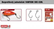 Bezprotihrotý jednoháček na woblery VANFOOK SOC-33BL