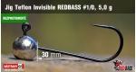 BL Jig Teflon Invisible #1/0 - 5,0 g, 5 ks