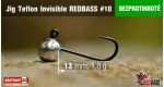 BL Jig Teflon Invisible #10 - 1,0 g, 5 ks