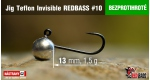 BL Jig Teflon Invisible #10 - 1,5 g, 5 ks