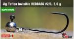 BL Jig Teflon Invisible #2/0 - 3,0 g, 5 ks