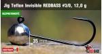 BL Jig Teflon Invisible #3/0 - 12 g, 5 ks +4 Kč