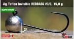 BL Jig Teflon Invisible #3/0 - 15 g, 5 ks +4 Kč