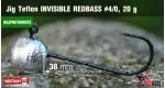 BL Jig Teflon Invisible #4/0 - 20 g, 5 ks +6 Kč