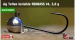 BL Jig Teflon Invisible #4 - 3,0 g, 5 ks