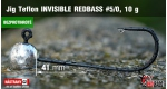 BL Jig Teflon Invisible #5/0 - 10 g, 5 ks