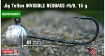 BL Jig Teflon Invisible #5/0 - 15 g, 5 ks