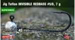 BL Jig Teflon Invisible #5/0 - 7 g, 5 ks