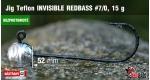 BL Jig Teflon Invisible #7/0 - 15 g, 5 ks