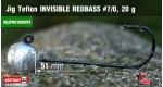 BL Jig Teflon Invisible #7/0 - 20 g, 5 ks +10 Kč