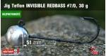 BL Jig Teflon Invisible #7/0 - 30 g, 5 ks +10 Kč