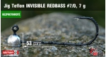 BL Jig Teflon Invisible #7/0 - 7 g, 5 ks