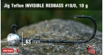 Jig Teflon Invisible #10/0 - 5 ks, 10 g