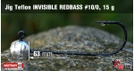 Jig Teflon Invisible #10/0 - 5 ks, 15 g