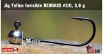 Jig Teflon Invisible #2/0 - 3,0 g, 5 ks