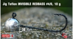 Jig Teflon Invisible #4/0 - 5 ks, 10 g