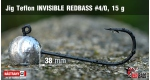 Jig Teflon Invisible #4/0 - 5 ks, 15 g