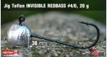 Jig Teflon Invisible #4/0 - 5 ks, 20 g +6 Kč