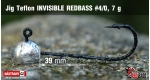 Jig Teflon Invisible #4/0 - 5 ks, 7 g