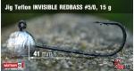 Jig Teflon Invisible #5/0 - 5 ks, 15 g