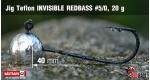 Jig Teflon Invisible #5/0 - 5 ks, 20 g +6 Kč