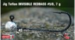 Jig Teflon Invisible #5/0 - 5 ks, 7 g