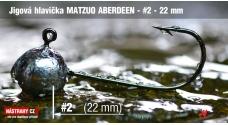 Jigová hlavička Matzuo Aberdeen vel. 2 - 22 mm - 5 ks