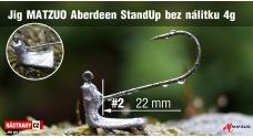 Neváznoucí jigovka MATZUO Aberdeen StandUp bez nálitku vel. 2 - 22 mm - 5 ks