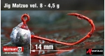 Matzuo #8 RED 1,0 g, 5 ks