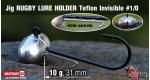 RUGBY - Lure holder #1/0, 10 g, 5 ks