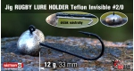 RUGBY - Lure holder #2/0, 12 g, 5 ks